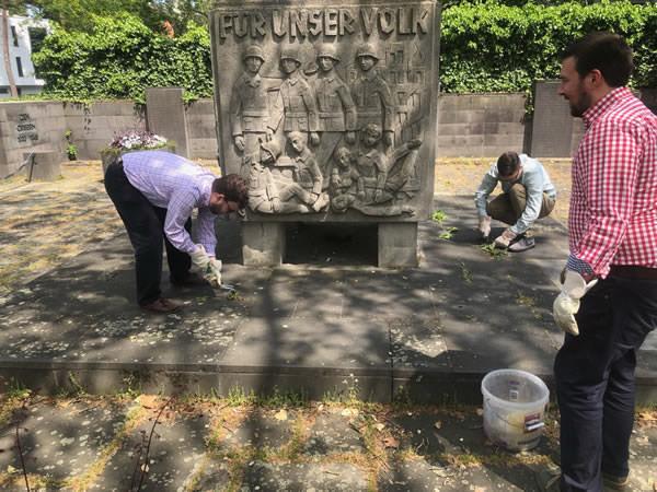 AfD Mainz - Kriegerdenkmal Gonsenhaeim