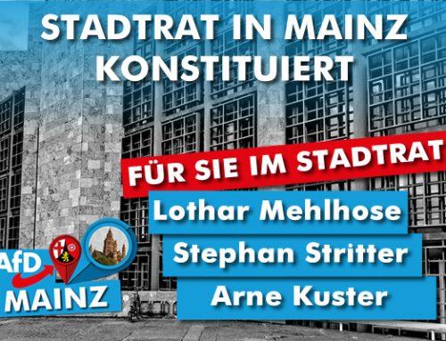 AfD erreicht 8 Mandate in Mainz und verankert sich kommunal