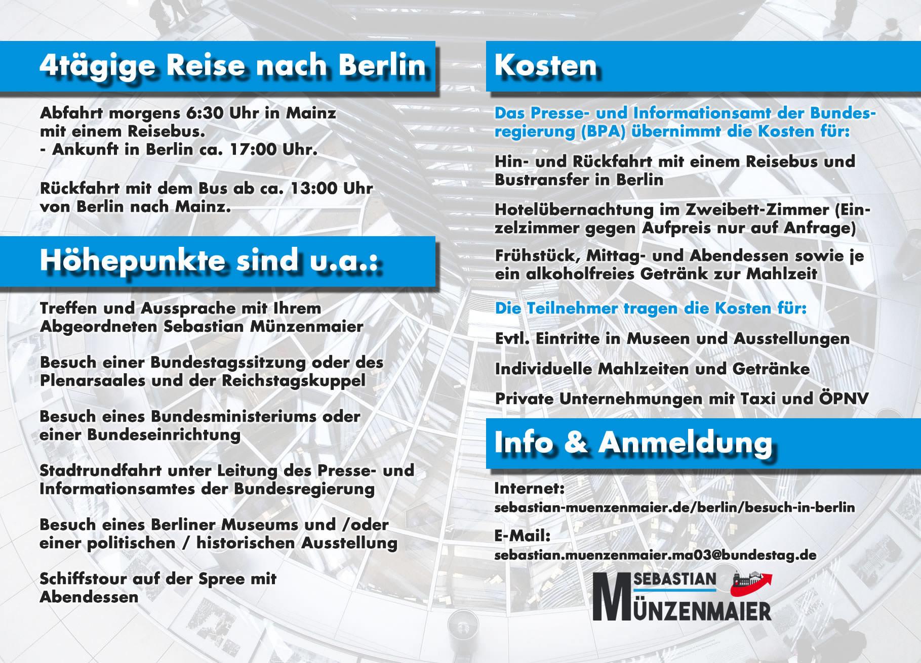 November 2019 - Besuch in Berlin