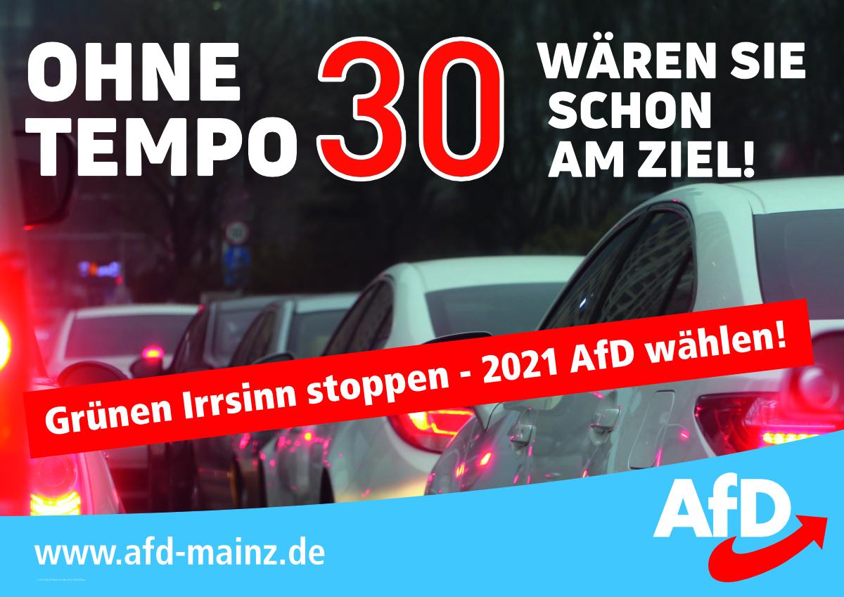 AfD Mainz - Tempo 30