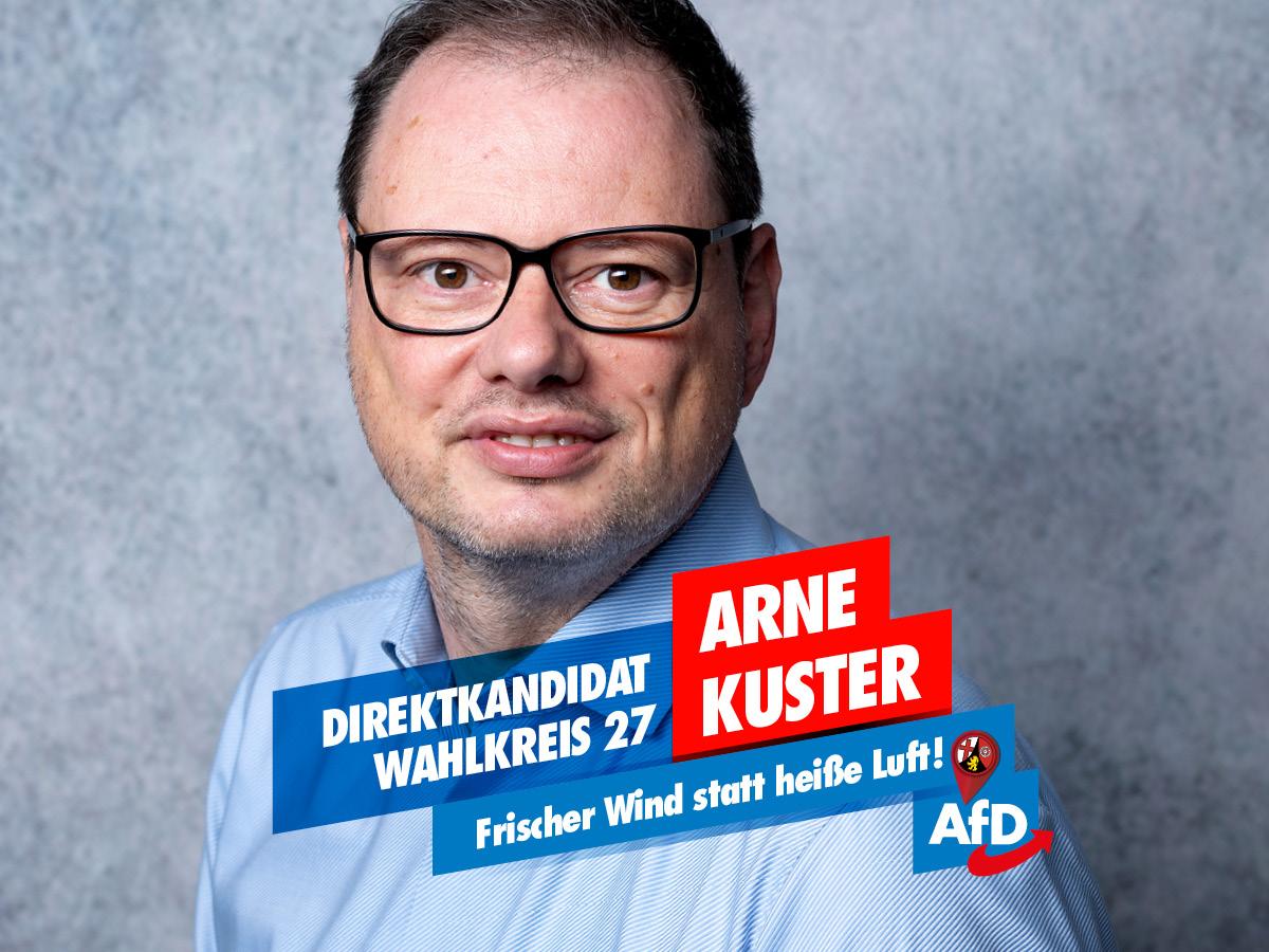 Arne Kuster - Direktkandidat LTW 2021