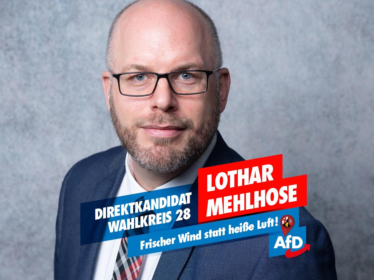 Lothar Mehlhose - Direktkandidat LTW 2021