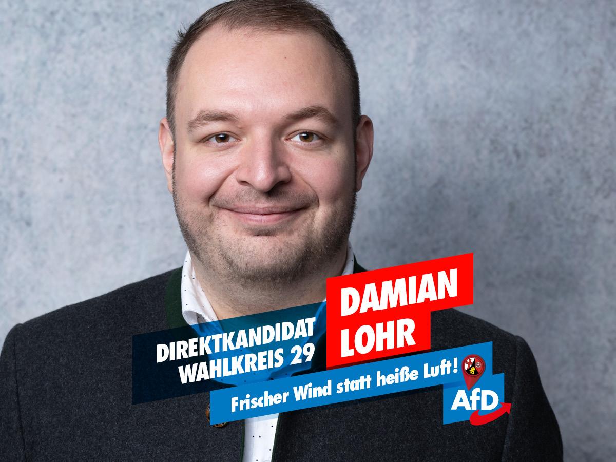 Damian Lohr - Direktkandidat LTW 2021
