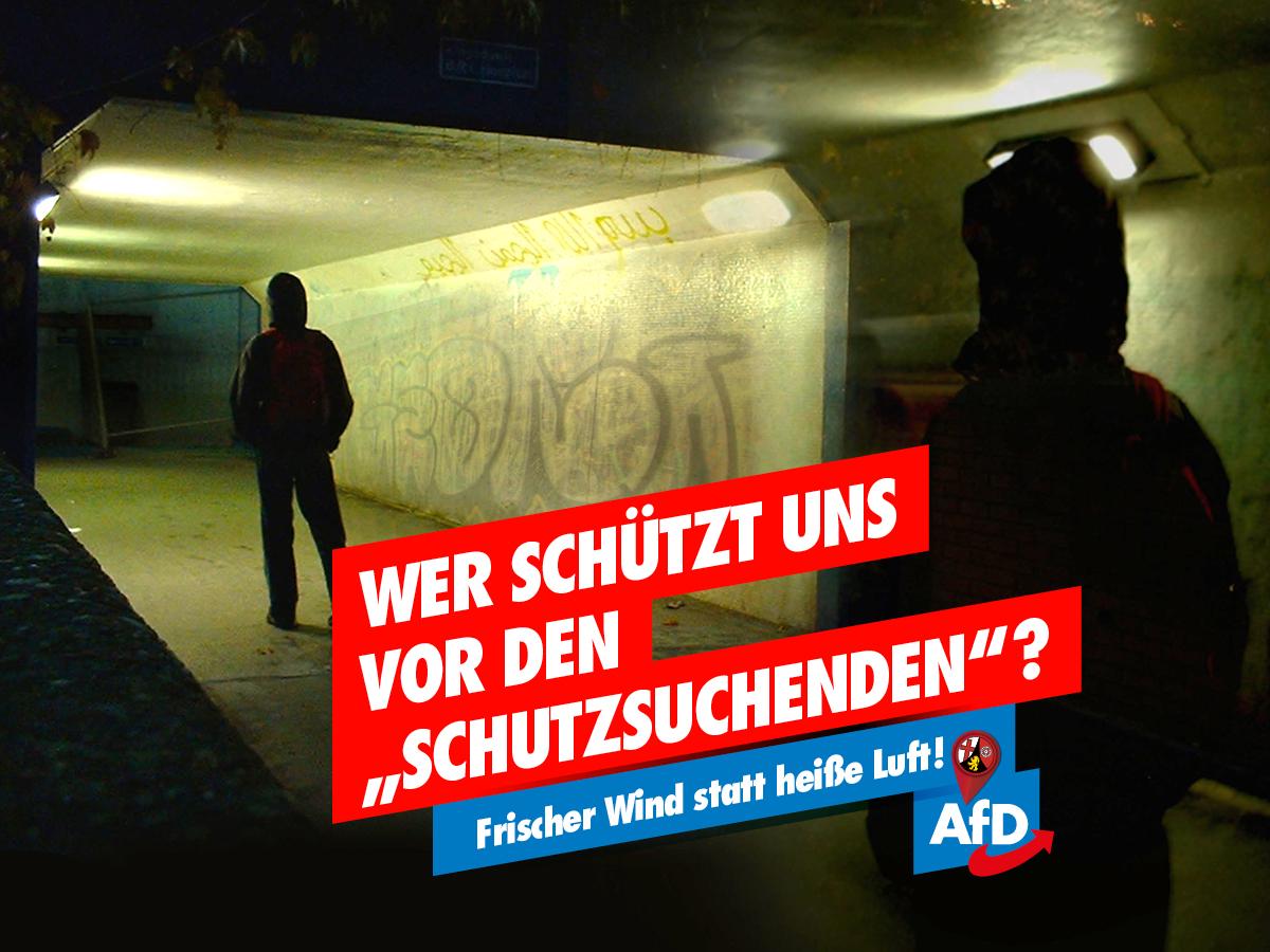 AfD LTW21 - Schutzsuchende