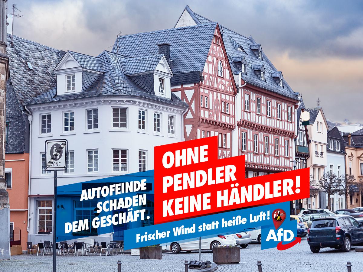 AfD LTW21 - Ohne Pendler, keine Händler