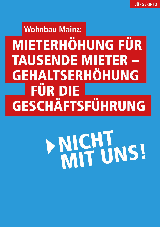 Mieterhöhungen - AfD-Mainz