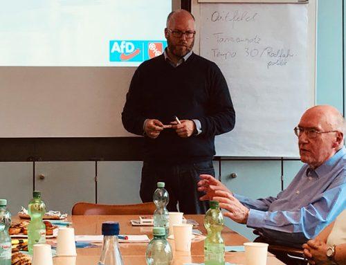 Klausurtagung der Mainzer und Wiesbadener AfD-Rathausfraktionen